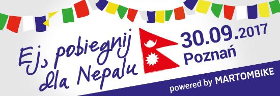 Ej, pobiegnij dla Nepalu!