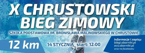X Chrustowski Bieg Zimowy